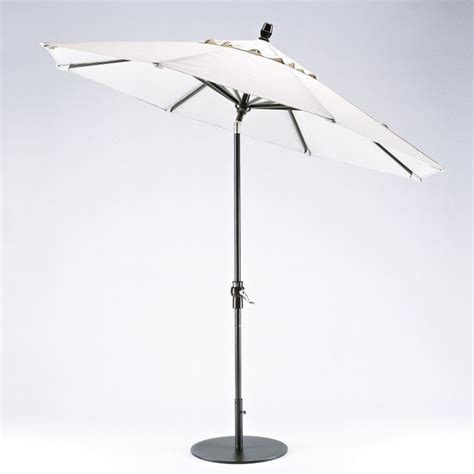 telescope 9 ft value market umbrella with aluminum frame