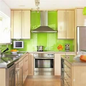 Küche Farbe Wand : wohnideen k che farbe ~ Markanthonyermac.com Haus und Dekorationen