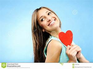 Young Woman In Love Royalty Free Stock Photo - Image: 21793705