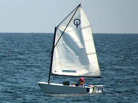 Optimist Zeilboot by Lenam Optimist En Rc De Regatas De Alicante Bateaux De
