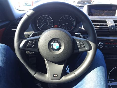 Z4 E89 M-sport Steering Wheel Installed