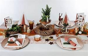 Tischdeko Ideen Weihnachten : tischdeko kupfer zu weihnachten tafeldeko ~ Markanthonyermac.com Haus und Dekorationen
