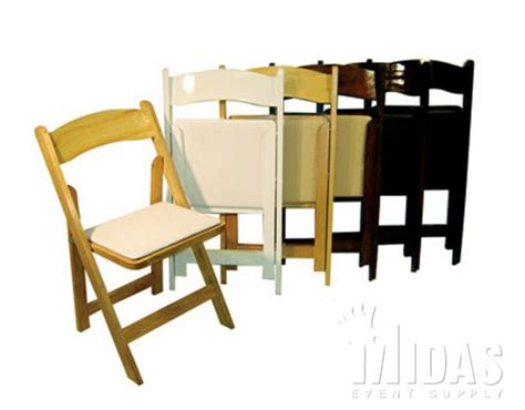 chairs classic wood folding chairs classic series fruitwood w pad event suppliers