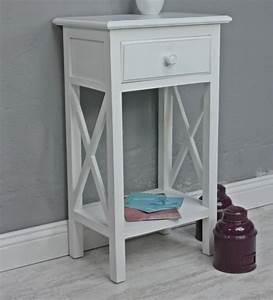 Beistelltisch Weiß Holz : telefontisch antik wei holz beistelltisch ~ Markanthonyermac.com Haus und Dekorationen