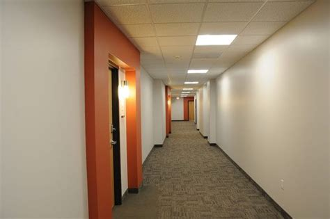 Corridor & Hallway : Apartment Building Hallway