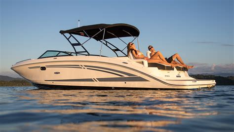 Older Model Deck Boats by Sea Ray 290 Sundeck Let The Fun Begin Boats
