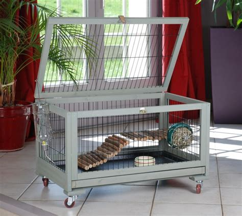 cage lapin et lapin nain d interieur inland animaloo