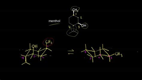 polysubstituted cyclohexane organic chemistry khan academy