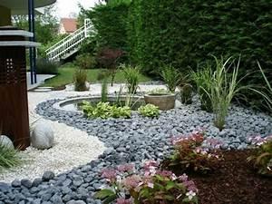 Gartengestaltung Kosten Beispiele : 1001 ideen zum thema blumenbeet mit steinen dekorieren ~ Markanthonyermac.com Haus und Dekorationen