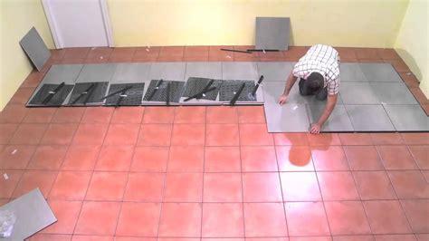 poser un carrelage sur un carrelage 28 images pose de carrelage au sol sur un plancher de