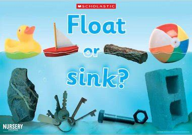 Float Or Sink  Poster  Early Years Teaching Resource