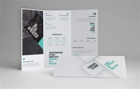 Free Double Sided Brochure Template