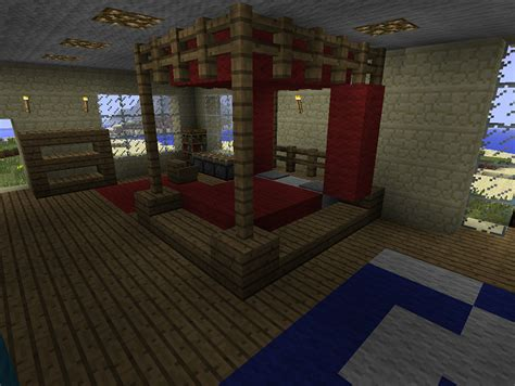 minecraft furniture bedroom a minecraft poster bed