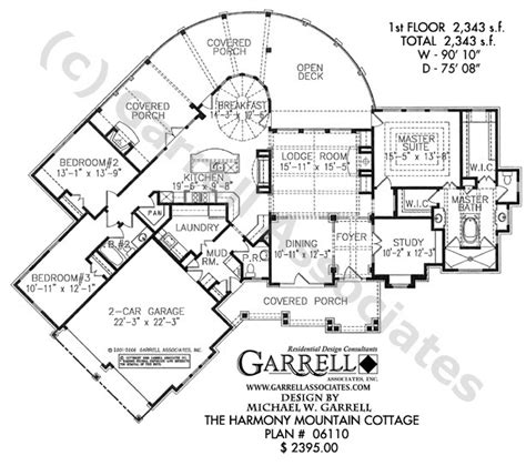 harmony mountain cottage house plan active house plans
