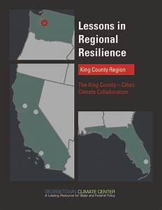 Lessons in Regional Resilience: The King County - Cities ...