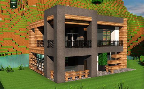 cuisine tuto maison moderne grande maison plus maison moderne minecraft maison