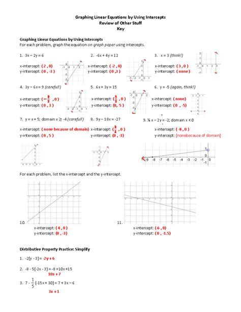 slope intercept form practice 15 best images of finding nemo worksheets with answer key