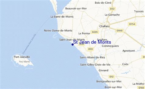 st jean de monts surf forecast and surf reports vendee