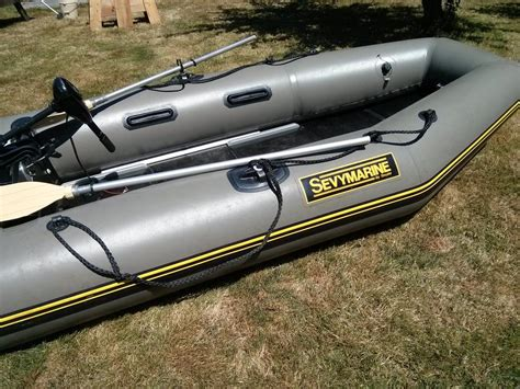 Inflatable Boat For Sale Regina by Sevymarine Inflatable Boat And 12 V Minn Kota Endura Motor