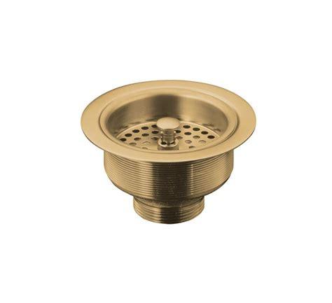 Kohler Sink Strainer Brushed Nickel by Faucet K 5814 4 K 10433 Bv In Brushed Bronze Faucet