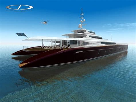 Huge Catamaran Yacht by Coste Designs Luxury 60m Power Catamaran Superyachts