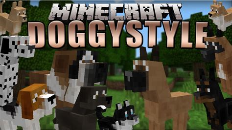 Doggystyles Minecraft Mod 1710  Review (10 Breeds Of