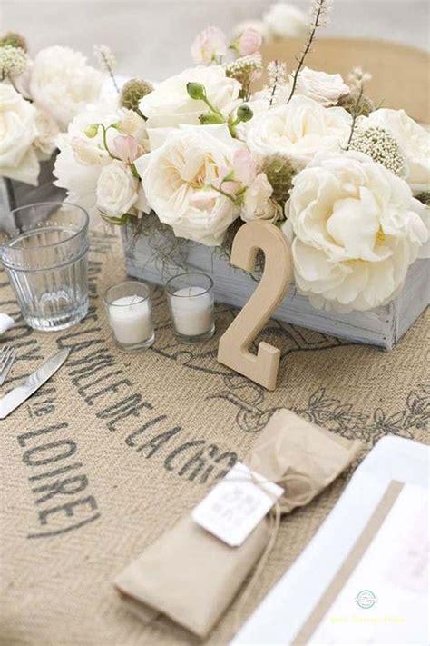 d 233 coration de mariage pour la table en 80 id 233 es originales d 233 co de mariage vintage sac en