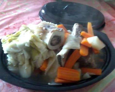 recette de mon bouillon de boeuf pot au feu