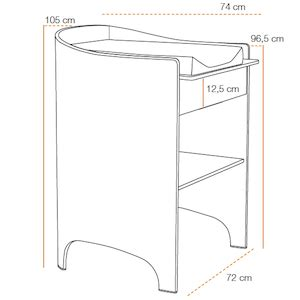 taille table a langer table basse