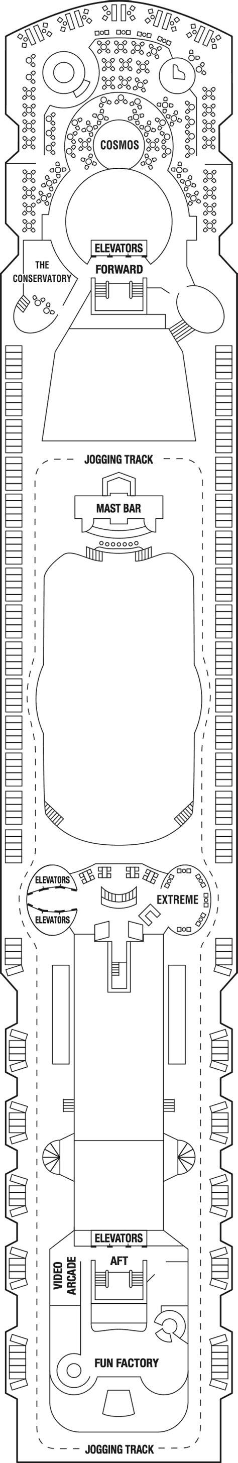 millennium deck plans