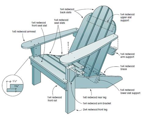 folding deck chair plans free woodworking projects