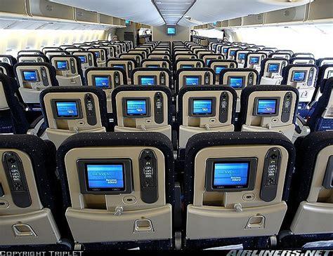 si 232 ges dans un avion boeing 777 300 d air en classe 233 conomique compagnies a 233 riennes