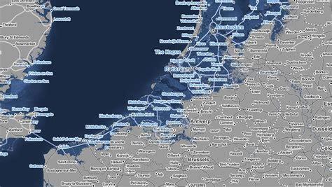 cartes interactives la mer pourrait monter de 2 m 232 tres d ici 224 2100