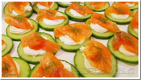 smoked salmon canapes ideas g8 dinners
