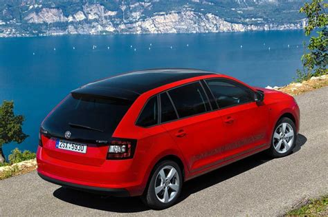 skoda rapid spaceback fiche technique 1 2 tfsi 90 dsg 2016