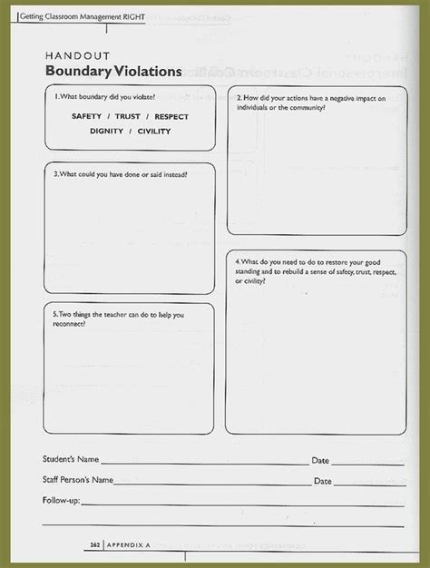 Worksheets  Building Relationships In Secondary Classrooms A Resource For Educators