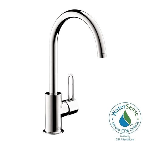 hansgrohe uno single 1 handle high arc bathroom faucet in chrome 38030001 the home depot