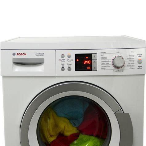 test bosch waq28461ff avantixx 7 varioperfect lave linge ufc que choisir