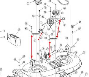 husqvarna mower deck diagram husqvarna free