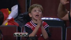 Young Bulls fan is insanely excited for free Big Mac - NY ...