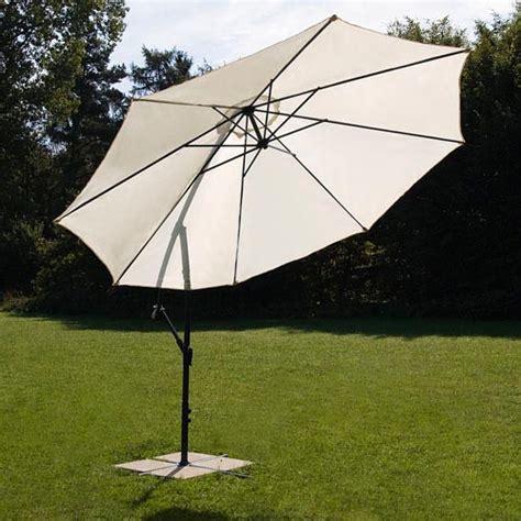 large 3 50m garden parasol sun shade umbrella patio cantilever banana hanging