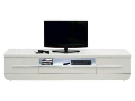 meuble tv floyd coloris blanc conforama