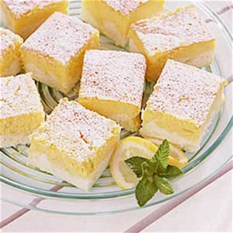 lemon ricotta cheesecake squares recipe taste of home