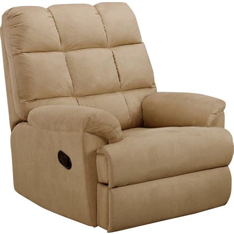 living room chairs and recliners walmart recliner sofa chair microsuede rocking living room
