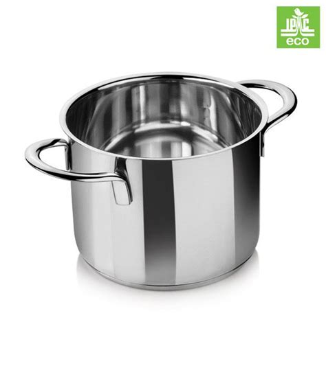 i pac stainless steel cooking pot snapdeal price cookware deals at snapdeal i pac stainless