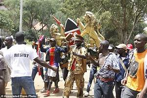 Kenyan opposition leader 'sworn in' as event called ...