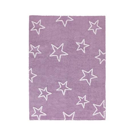 tapis enfant estrellas violet canals 120x160