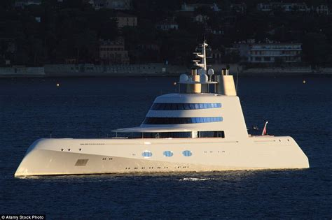 Ship Vs Boat Turning by Melnichenko Puts Motor Yacht A Up For Sale Daily Mail Online