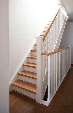 peindre escalier en bois en blanc naturel