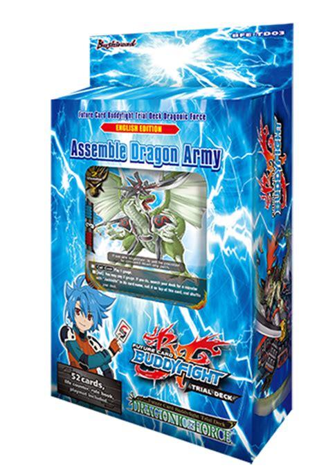bfe td03 dragonic trial deck buddyfight